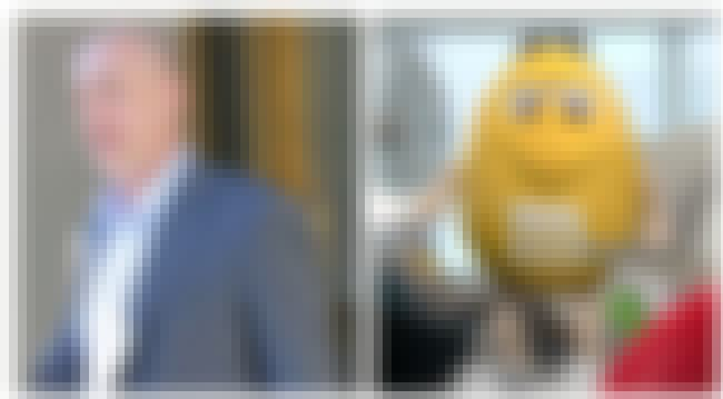 JK Simmons Is The Yellow M&M is listed (or ranked) 1 on the list The Surprising Hidden Actors Behind CGI And Costumed Characters