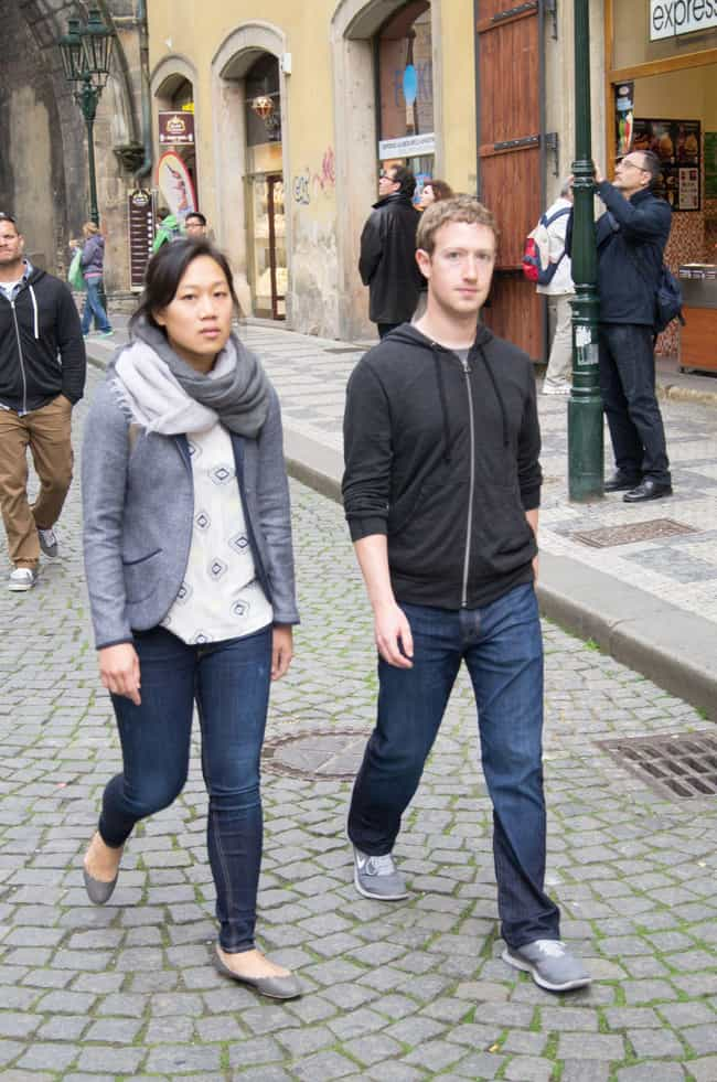 He Met His Wife In A Harvard B... is listed (or ranked) 4 on the list Weird Facts About Mark Zuckerberg Most People Don't Know