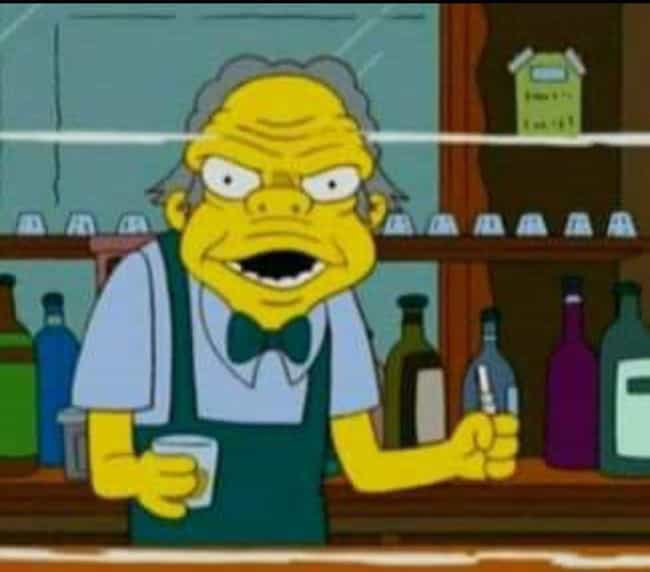 Moe Problems is listed (or ranked) 1 on the list The Nightmarish Discovery Of Front-Facing Simpsons Characters