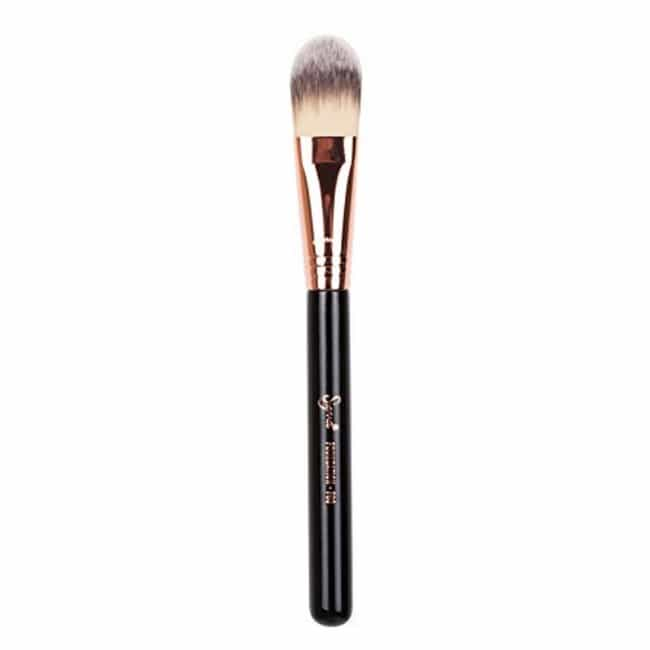 Foundation Brush is listed (or ranked) 1 on the list We've Been Using Our Makeup Brushes Wrong This Whole Time