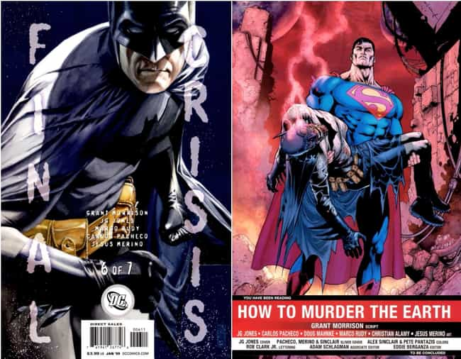 Darkseid Obliterates Batman Wi... is listed (or ranked) 1 on the list Remembering Every Single Time Batman Died In The Comics