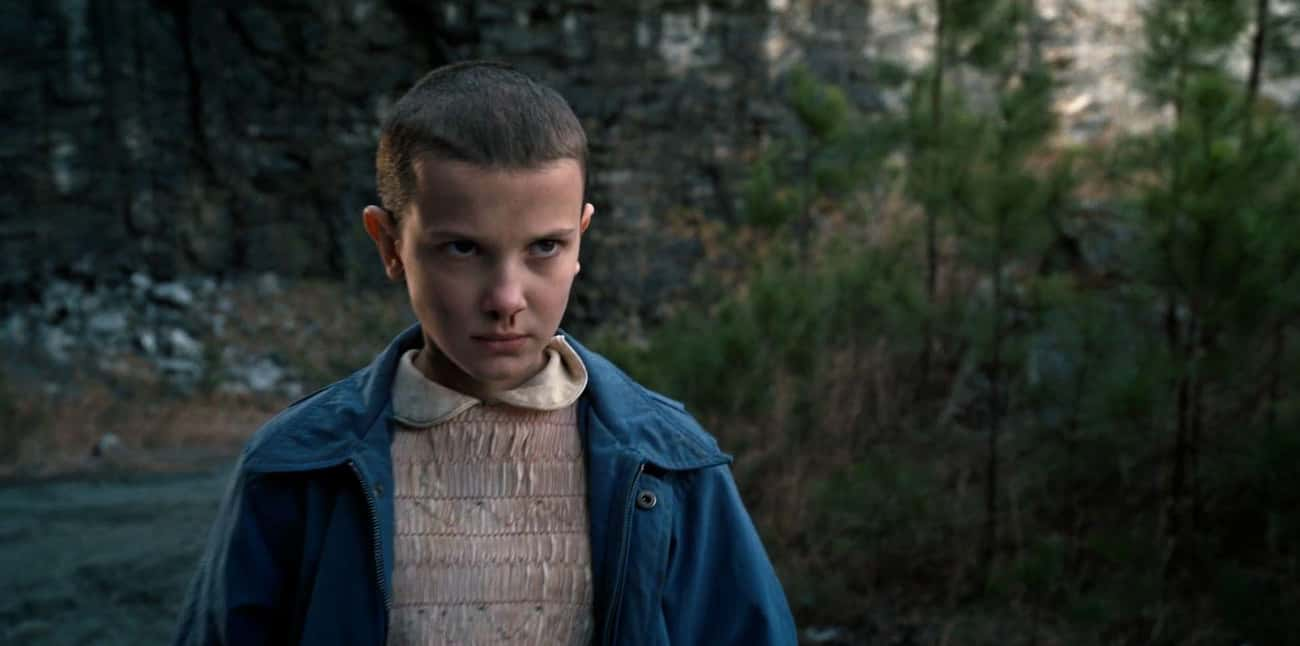 Millie Bobby Brown Wasn't  is listed (or ranked) 4 on the list 16 Behind The Scenes Secrets From The Set Of 'Stranger Things'