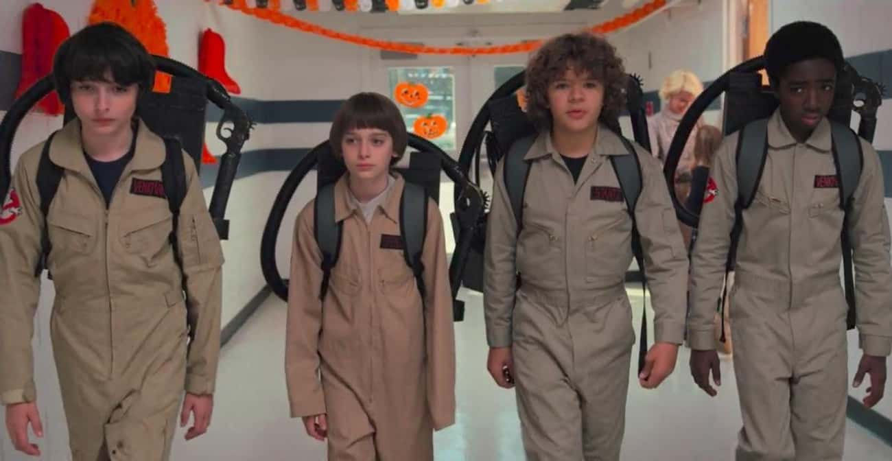 The Duffer Brothers Had To Jum is listed (or ranked) 2 on the list 16 Behind The Scenes Secrets From The Set Of 'Stranger Things'