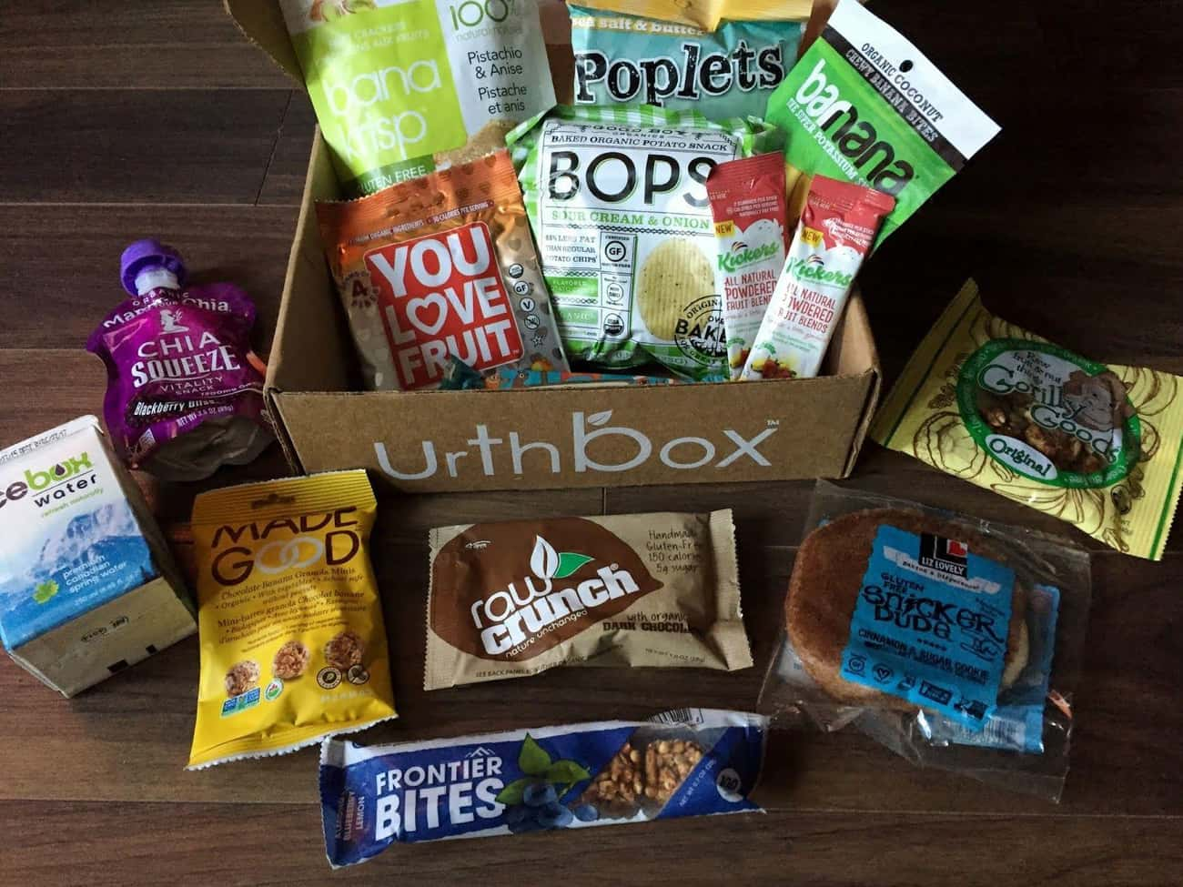 UrthBox is listed (or ranked) 2 on the list The Best Subscription Boxes for Snackers