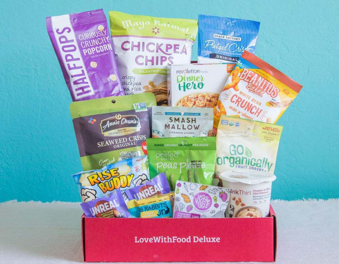 Love With Food is listed (or ranked) 3 on the list The Best Subscription Boxes for Snackers