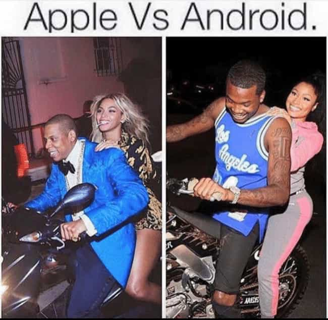 Android Vs  IPhone Memes - DumbBuzz