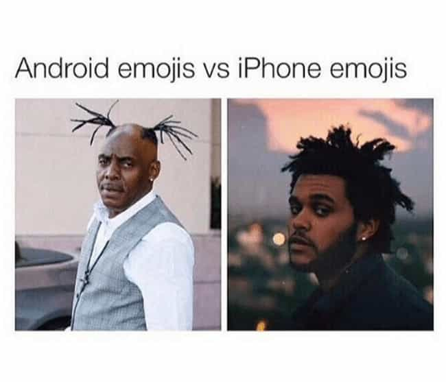 A Wealth Of Emotions is listed (or ranked) 2 on the list Android Vs. iPhone Memes That Will Make You Laugh Out Loud Or Get Incredibly Angry