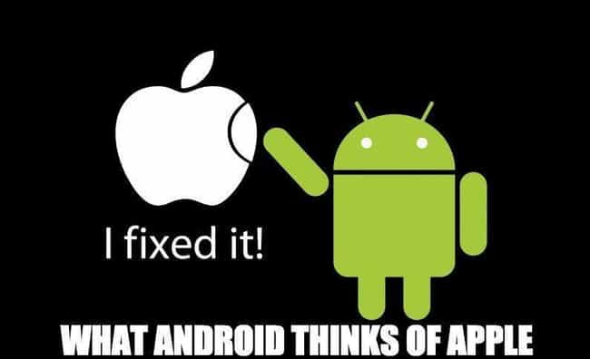 Get To Fixing is listed (or ranked) 4 on the list Android Vs. iPhone Memes That Will Make You Laugh Out Loud Or Get Incredibly Angry