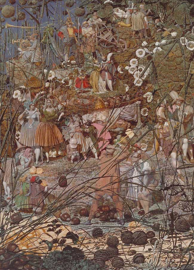 The Artist's Most Famous... is listed (or ranked) 1 on the list An Imprisoned Schizophrenic, Richard Dadd Produced Stunning Works Of Art