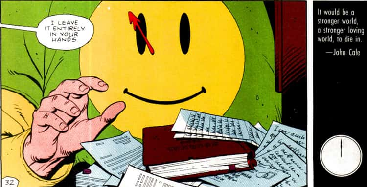 'Doomsday Clock' Begins Where 'Watchmen' Ends: With Rorschach's Journal