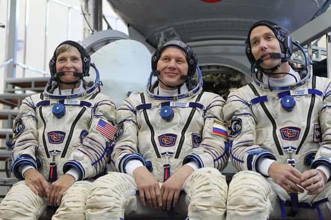American Astronauts Were Allow... is listed (or ranked) 4 on the list Space Is Officially A 'Weapons-Free Zone,' So Why Do Astronauts Carry Guns?