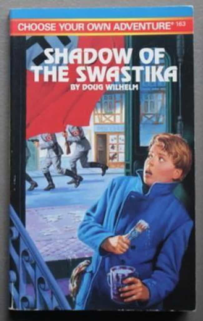 'Shadow Of The Swastika'... is listed (or ranked) 1 on the list The Scariest 'Choose Your Own Adventure Books' That Terrified You As A Child
