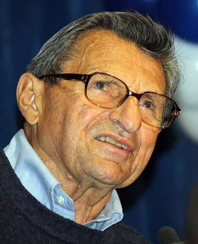 Paterno Claimed He'd Never... is listed (or ranked) 2 on the list How Joe Paterno's Silence In The Face Of Abuse Led To His Stunning Fall From Grace