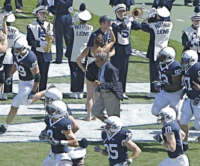 The NCAA Revoked All Wins By P... is listed (or ranked) 3 on the list How Joe Paterno's Silence In The Face Of Abuse Led To His Stunning Fall From Grace
