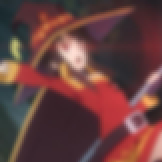 Megumin is listed (or ranked) 1 on the list The Best KonoSuba Quotes