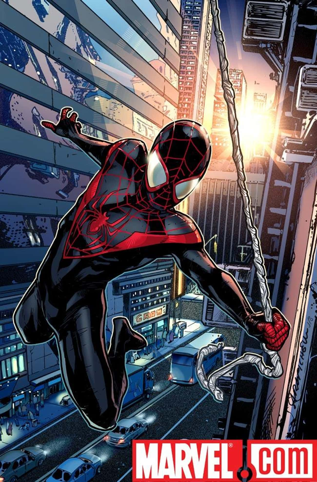 Ultimate Spider-Man is listed (or ranked) 3 on the list Who's the Best Spider-Man in the Spider-Verse?