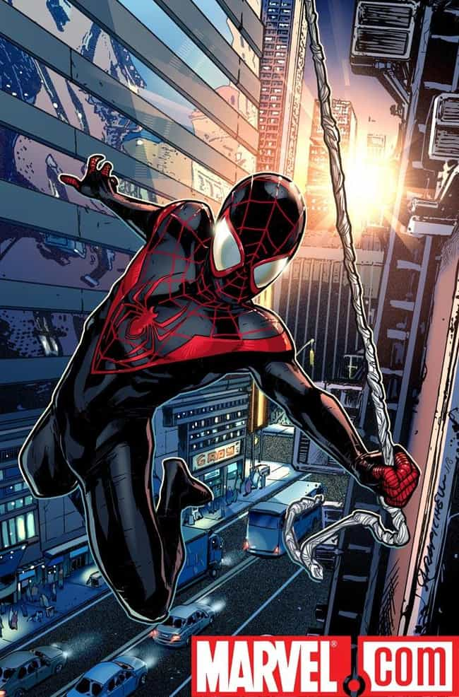 Ultimate Spider-Man is listed (or ranked) 4 on the list Who's the Best Spider-Man in the Spider-Verse?