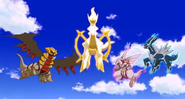 Arceus Created Three Pokémon T is listed (or ranked) 2 on the list An Abridged History Of The Entire Pokémon Universe