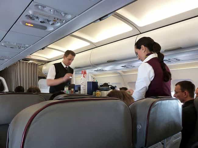 Flight Attendants is listed (or ranked) 1 on the list People Who Aren't Allowed To Accept Your Tips