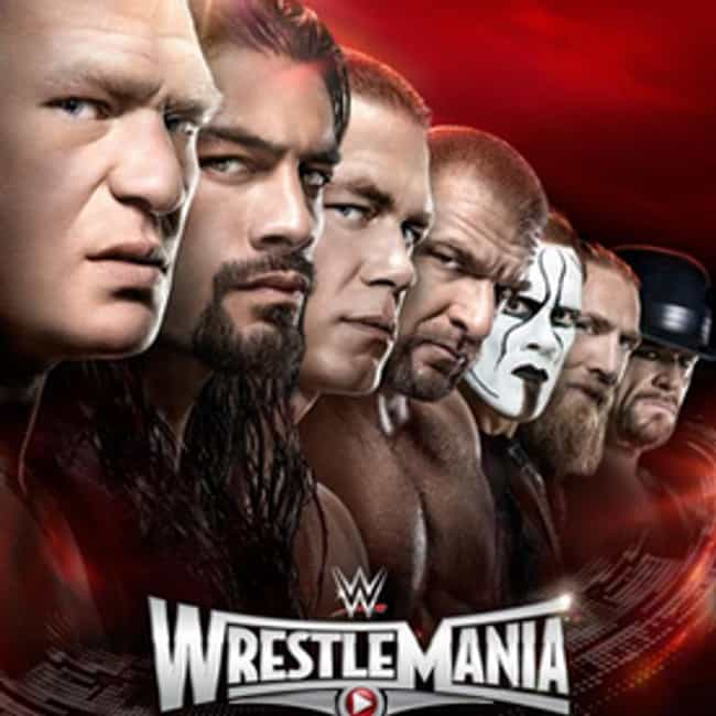 WrestleMania 31 is listed (or ranked) 3 on the list The Best WrestleManias of All Time