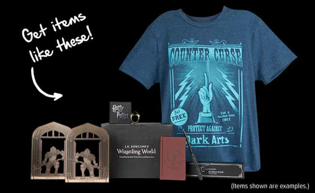 Loot Crate's Wizarding Wor... is listed (or ranked) 3 on the list The Best Subscription Boxes For 'Harry Potter' Fans