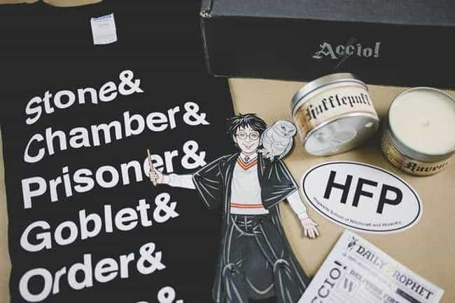 Accio! is listed (or ranked) 4 on the list The Best Subscription Boxes For 'Harry Potter' Fans