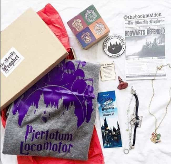 The Monthly Prophet's Ma... is listed (or ranked) 2 on the list The Best Subscription Boxes For 'Harry Potter' Fans