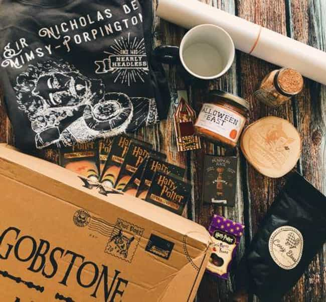 Flying Parcels From Gobs... is listed (or ranked) 3 on the list The Best Subscription Boxes For 'Harry Potter' Fans