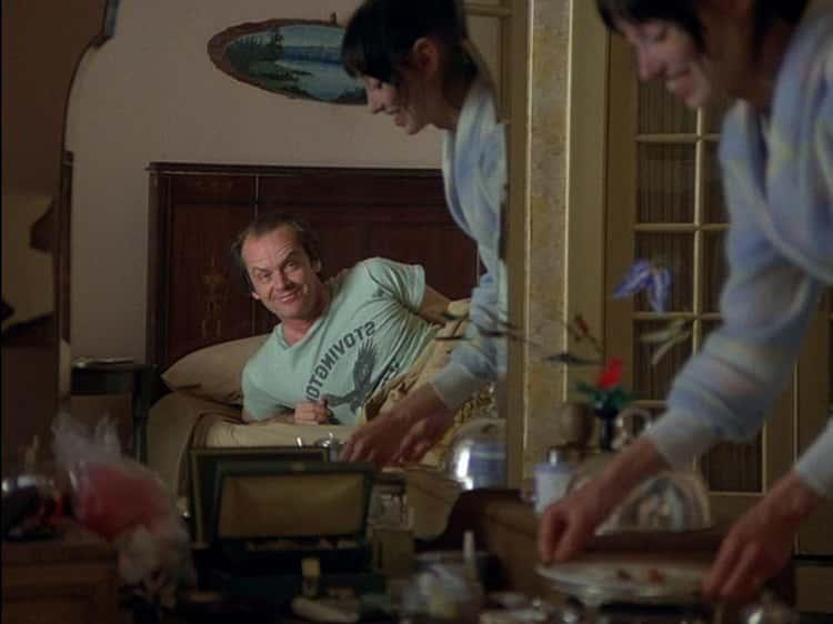 Jack Nicholson Slept On The Floor In Between Scenes