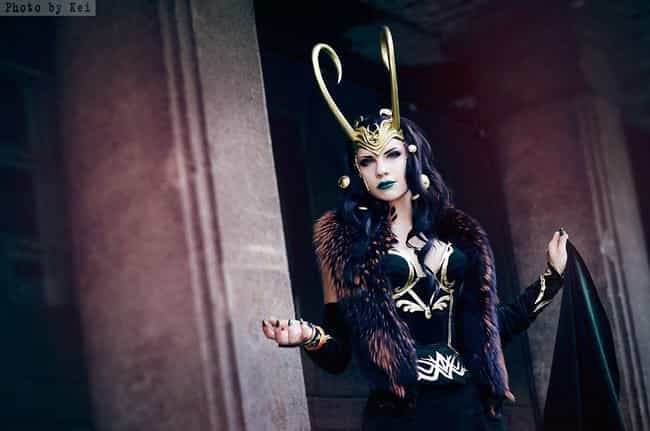 Loki is listed (or ranked) 4 on the list Genderbent Marvel Villain Cosplay Will Drive You Wild