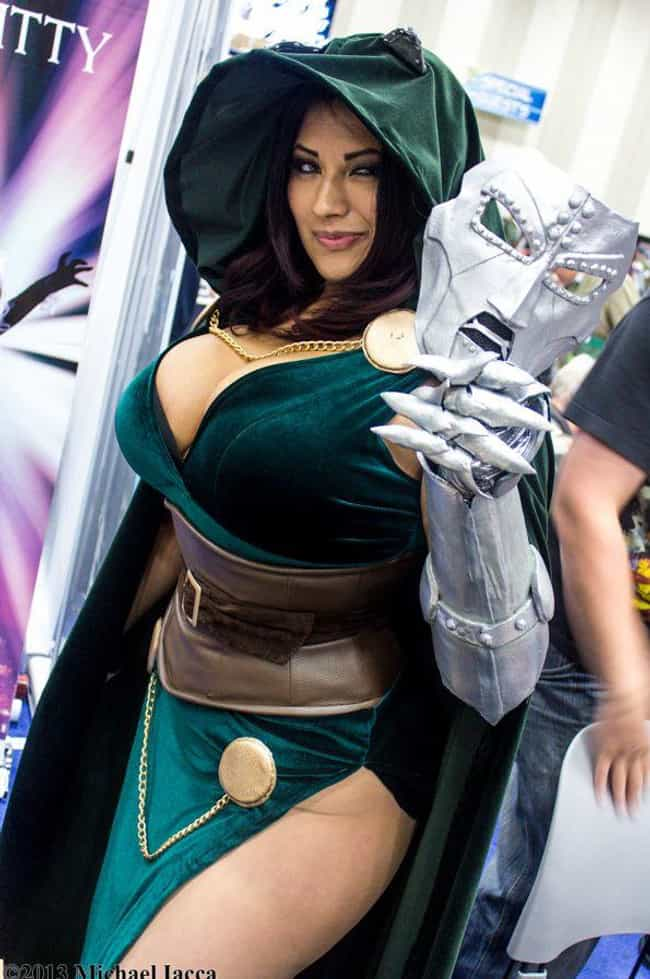 Doctor Doom is listed (or ranked) 3 on the list Genderbent Marvel Villain Cosplay Will Drive You Wild