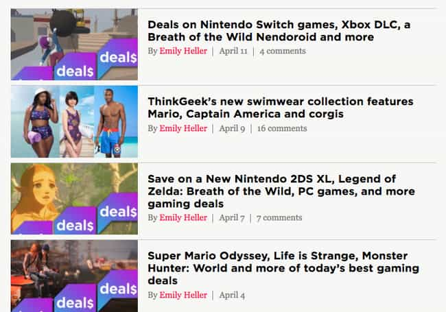 Keep Up With Gaming Webs... is listed (or ranked) 7 on the list The Best Ways To Get Discounted Video Games