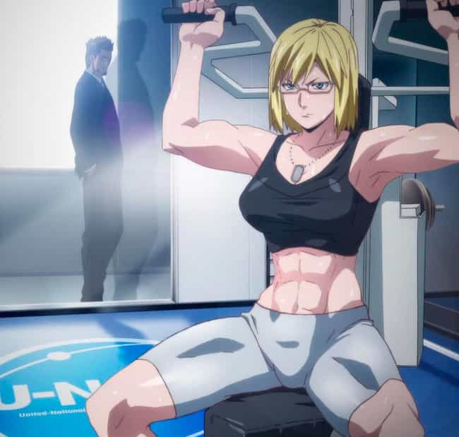 Michelle K. Davis — 'Ter... is listed (or ranked) 4 on the list The Most Jacked Anime Women of All Time