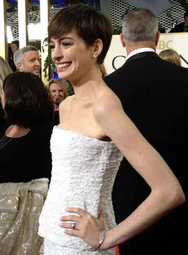 She's The Subject Of Tabloids'... is listed (or ranked) 2 on the list Why Do People Hate Anne Hathaway?