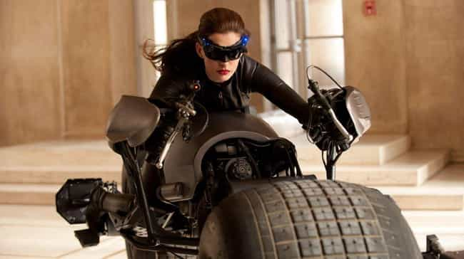 She Played Catwoman, And Peopl... is listed (or ranked) 3 on the list Why Do People Hate Anne Hathaway?