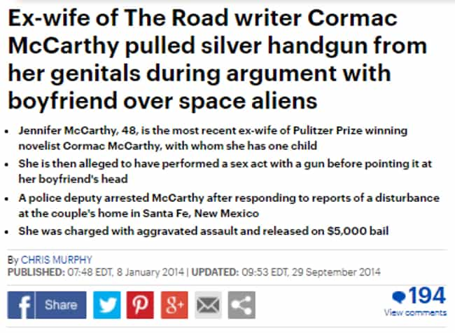 Giver Her Some Space is listed (or ranked) 1 on the list 28 Daily Mail Headlines That Really Go The Extra Mile