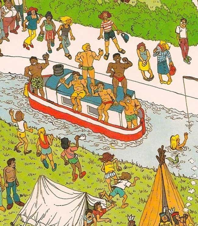 The Weirdest Things Hidden In Where's Waldo Images