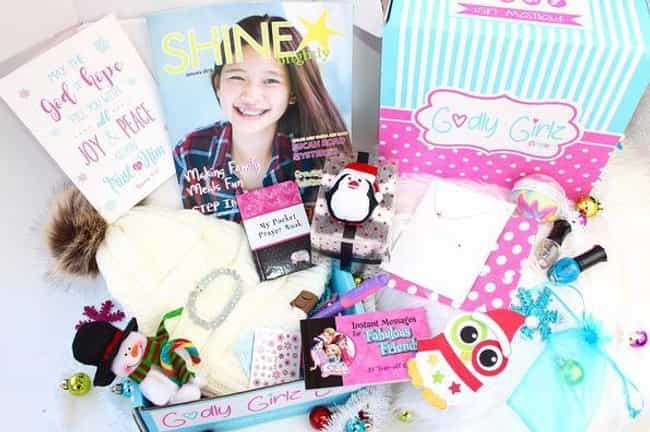 Godly Girlz Box is listed (or ranked) 4 on the list The Best Subscription Boxes for Christians