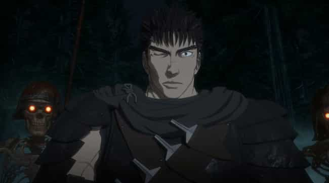 Guts — Berserk is listed (or ranked) 1 on the list The 14 Most Unlucky Characters In Anime