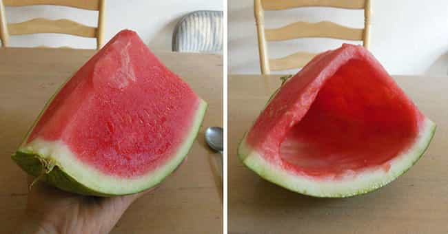 Hollow Out A Melon is listed (or ranked) 8 on the list Hilarious Pranks To Pull On Your Siblings
