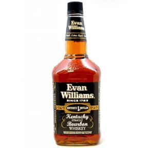 Evan Williams is listed (or ranked) 4 on the list What People Are Getting Drunk Off Of In Each State