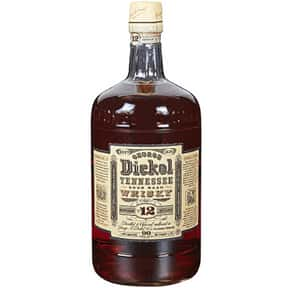 George Dickel is listed (or ranked) 6 on the list What People Are Getting Drunk Off Of In Each State