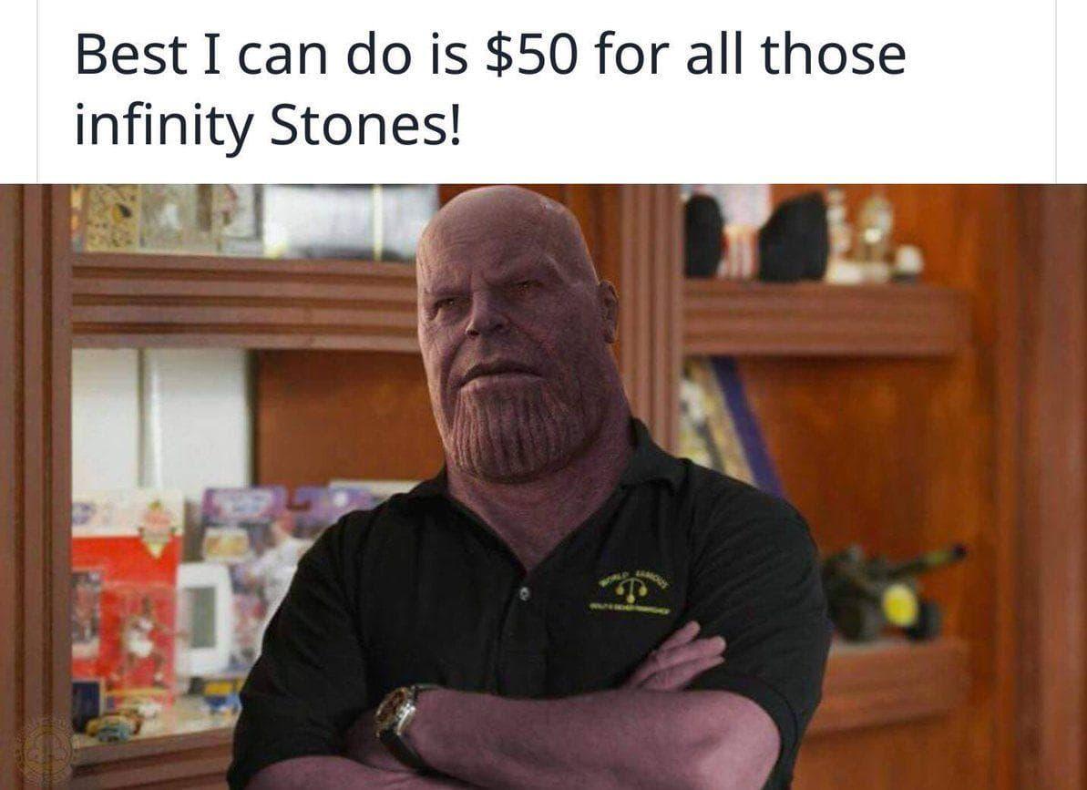 Image of Random Best Thanos Edit Memes