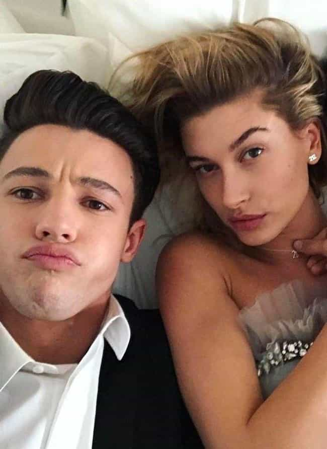 Hailey Baldwin is listed (or ranked) 2 on the list Cameron Dallas Loves And Hookups