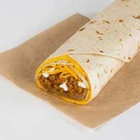 Beefy 5-Layer Burrito is listed (or ranked) 8 on the list The Best Things to Eat at Taco Bell