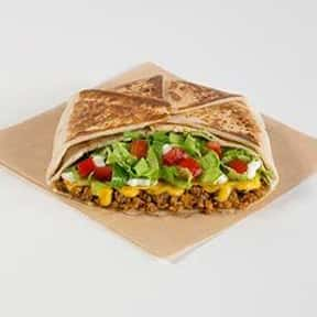 Crunchwrap Supreme® is listed (or ranked) 2 on the list The Best Things to Eat at Taco Bell