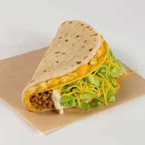 Cheesy Gordita Crunch is listed (or ranked) 1 on the list The Best Things to Eat at Taco Bell