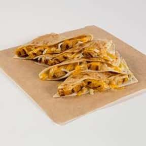 Chicken Quesadilla is listed (or ranked) 3 on the list The Best Things to Eat at Taco Bell