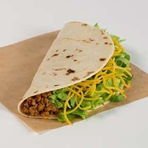 Soft Taco is listed (or ranked) 6 on the list The Best Things to Eat at Taco Bell