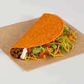 Nacho Cheese Doritos® Locos Ta is listed (or ranked) 18 on the list The Best Things to Eat at Taco Bell